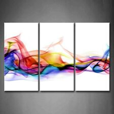 Framed Wall Art Colorful Brief Decor Pictures Print On Canvas Abstract Picture