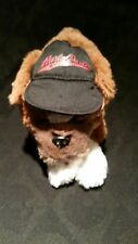 Harley Davidson plush Saint Bernard 2003 motorcycle dog stuffed toy