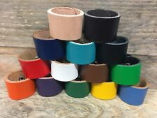 Leather Scout Woggles - BEAVERS/CUBS/SCOUTS (NOT Plastic youth Scout woggles)