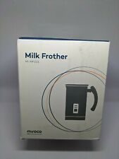 Milk Frother Miroco Stainless Steel Milk Steamer with Hot &Cold Milk Functionali