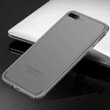 For Apple iPhone 6s 7 Plus Aluminum Metallic Bumper Hybird Frame Case Cover Skin