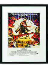 FRAMED Indiana Jones Film Movie Poster Prints A3 A4 Raiders of the lost ark
