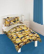 Despicable Me 2 Minions Childrens Single Bed Duvet Quilt Cover Set Official
