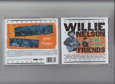 Willie Nelson & Friends - Live and Kickin' -  Original CD - diverse Duets