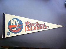 1970'S NEW YORK ISLANDERS NHL HOCKEY PENNANT FLAG SHARP!!
