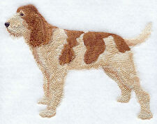 Large Embroidered Zippered Tote - Spinone Italiano C9643