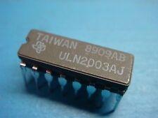 (5) TI ULN2003AJ DARLINGTON NPN 50V 0.5A TRANSISTOR 16 PIN CERAMIC DIP
