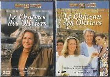 """2 DOUBLE-DVD """"LE CHATEAU DES OLIVIERS - L'INTEGRALE"""" Brigitte FOSSEY neuf"""