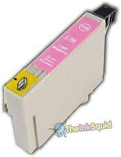 1 Magenta Light no-OEM T0796' búho' Cartucho De Tinta Con Epson Stylus 1400