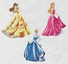 Lot de 3 Patch tissu thermocollant  - Princesses