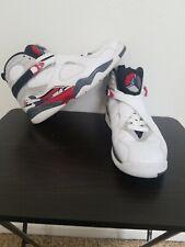 A41 2013 Nike Air Jordan VIII 8 Retro WHITE BLACK RED BUGS BUNNY 305381-103 10.5