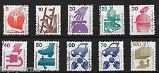 DDR German Democratic Republic Stamp Set. 1972 'Each Time Safety'. Fine Used.