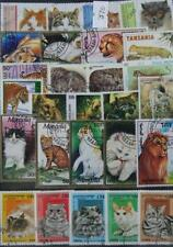 Francobolli a tema animali sul Gatti