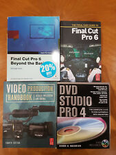 Final Cut Pro Training Books Video Production