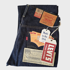 NWT LVC Levi's Vintage Clothing 1954 501 Size W32L34 Selvedge Big E Made in USA