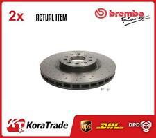 2 x BREMBO BRAKE DISC SET 09.C338.11