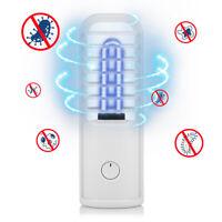 Portable UV UVC Germicidal Light UltraViolet Ozone LED Lamp USB Rechargeable US
