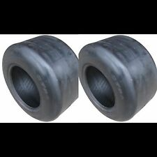(2) 13X6.50-6 4 Ply Smooth Tread Lawn Mower Tires 13x650-6 13x650x6 Pairoftires