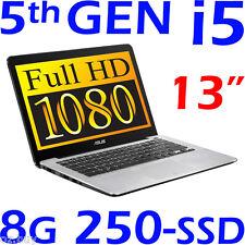 "ASUS P302LA Core i5 5200U 13.3"" FULL-HD 8G 250G SSD Windows 10 (64) Ultrabook"