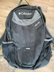 Columbia Beacon backpack Black with Gray Trim