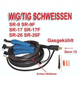 WIG Schlauchpaket SR9 SR17 SR26 Schweißinverter Schweißbrenner SR9 SR17 SR26