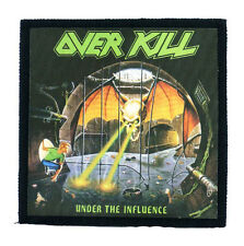 OVERKILL under the influence Toppa (patch 10x10) anthrax,bulldozer,testament