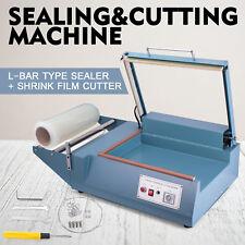 FQL-380 L-Bar Sealer Cutter Packing Machine Easy Operate Cutting Factories