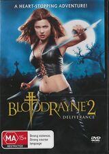 BLOODRAYNE 2 DELIVERANCE- NEW & SEALED REGION 4 DVD