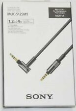 SONY MUC-S12SM1 High-Performance Balanced Audio Cable for MDR-1A Japan new