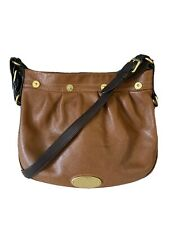 Authentic Mulberry Tan Mitzy Messenger Bag