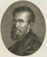 FLEISCHMANN (19. Jh.), Michelangelo, Stahlst.