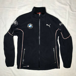 Puma BMW RLL Rahal Letterman Lanigan Auto Racing Full Zip Soft Shell Jacket XL