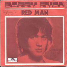 "45 TOURS / 7"" SINGLE--BARRY RYAN--RED MAN / LONELIEST NIGHT OF YEAR"