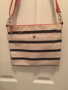 Fossil Top Zip Women's Multicolor  Crossbody Messenger Bag