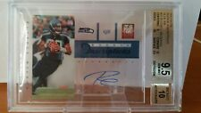 RUSSELL WILSON  RC AUTO 2012 ELITE INSCRIPTION BLUE INK GRADED BGS 9.5/10