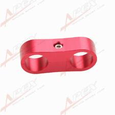 Schlauchhalter 2x15.1mm Stahlflexschlauch Aluminum Rot