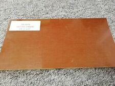 """Kirinite tossico Arancione//Nero 3//8/"""" 6/"""" x 1.5/"""" Scale per lavorazione del legno Coltello rendendo"""