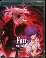 FATE/STAY NIGHT-[HEAVEN'S FEEL] II.LOST BUTTERFLY-JAPAN BLU-RAY O23