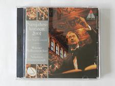 2 CD Neujahrskonzert 2001 Wiener Philharmoniker Nikolaus Harnoncourt New Years C