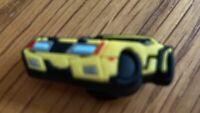 Jibbitz Crocs Shoe Charm Car Yellow Very Rare