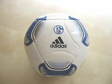 NEU Mini Fussball Adidas Torfabrik Schalke 04 Ball Football  Art. W45278  Size 1