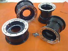 TRX 450R 400EX 300EX  Front  Rear wheels  Beadlock 10x5  9x8 Alba Racing BP 32