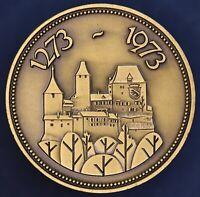 Switzerland Medal 700 Jahre Burgdorf Handfeste. 1273-1973 33mm *[15463]