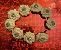 Nolan Miller Floral Link Bracelet