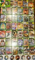 LOT OF 50 Original Xbox Video Games For Xbox Classic And Xbox 360 No Duplicates