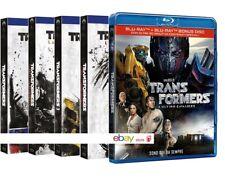 TRANSFORMERS COLLEZIONE COMPLETA 5 FILM (5 BLU-RAY) con Mark Walberg