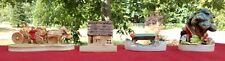 Sebastian Miniatures Lot (4) Figurines Vintage Mary Had . Lamb, Covered Bridge