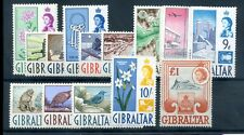 Gibraltar 1960 defin set fine MNH