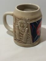Always Coca Cola 3D Sun Moon Stein Mug 1995 Made in Thailand