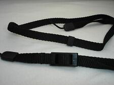 NIKON CAMERA NECK STRAP All black, Pictured model #002338